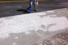 before star dust with pavers.